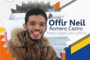 Felicidades a nuestro destacado alumno Offir Romero por recibir el Premio Regional Rubén Darío a la excelencia académica 2018