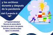 WEBINAR: Las Bibliotecas y los archivos durante y después de la pandemia