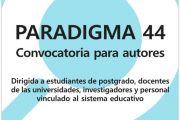 Convocatoria Paradigma 44