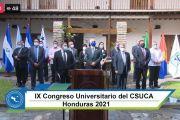 UPNFM PRESENTE EN EL IX CONGRESO DEL CSUCA