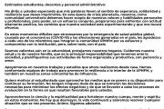 MENSAJE DEL SR.RECTOR ANTE LA CRISIS