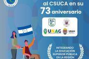 SALUDO AL CSUCA EN SU 73 ANIVERSARIO